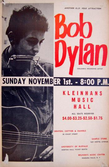 Will Pay Top Dollar For This Concert Poster At Kleinhans Music Hall In Buffalo New York